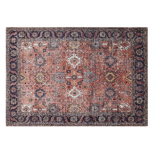 Rug - 'Anatolia', Rust/blue  4'x6'
