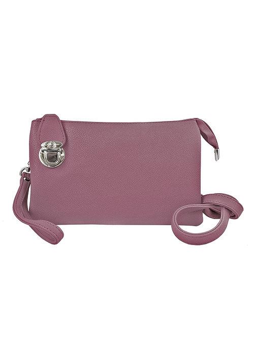 Lavender crossbody bag