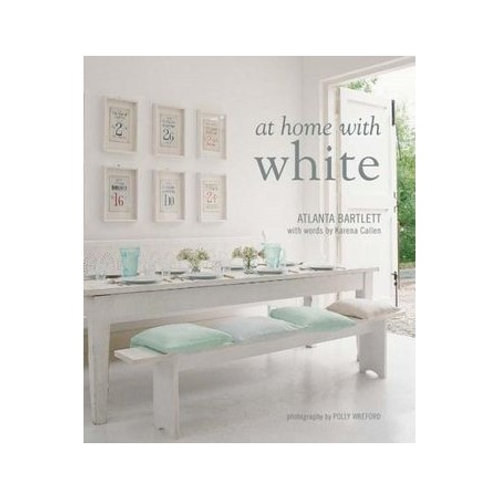 """""""At Home with White"""" book"""