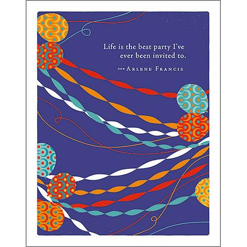 Birthday card    #7280
