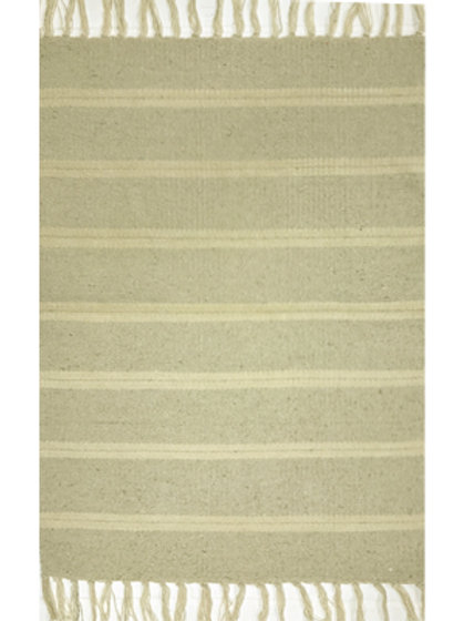 Rug - 3'x5'   Natural/off white  #4014