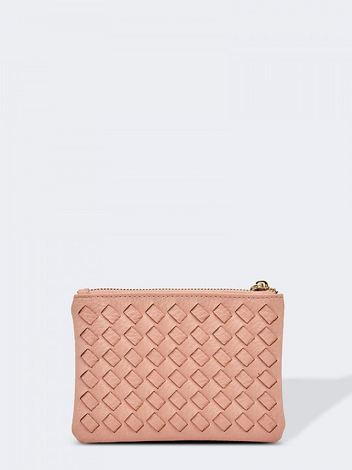 Acey Card & Key Case - Pale Pink