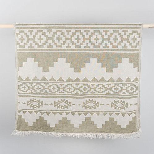 Turkish Towel - Atzi - Moss