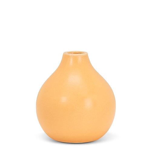 Matte vase - small, Ochre