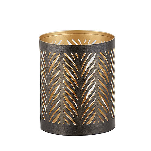 Metal candle holder - small