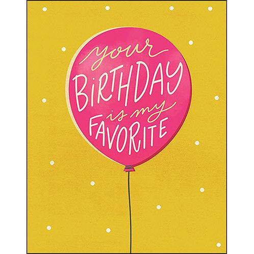Birthday card  #10367