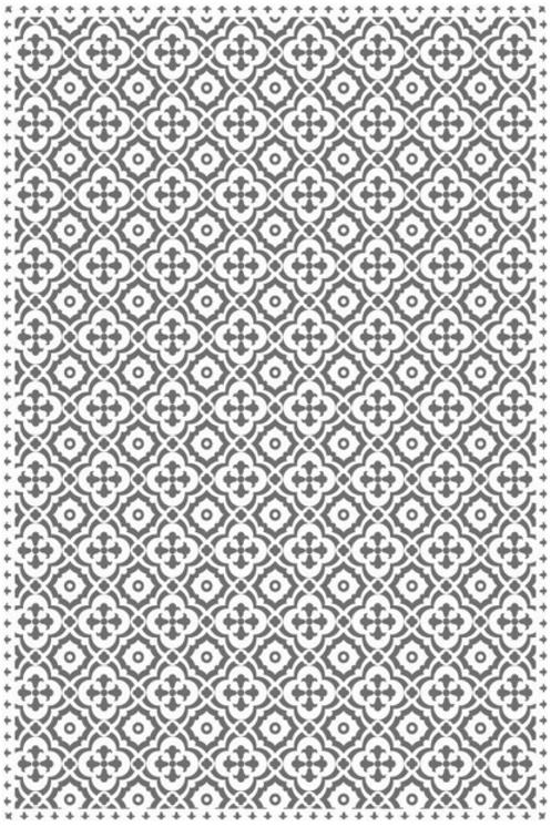 Vinyl floor mat 2'x3'