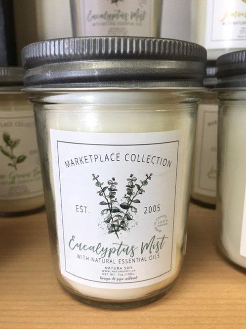 Eucalyptus Mist candle - Natura Soy - 7.5oz