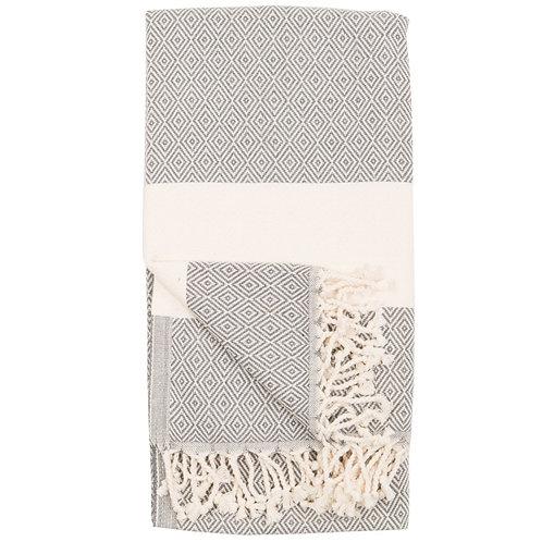 Turkish Towel - Diamond - Slate