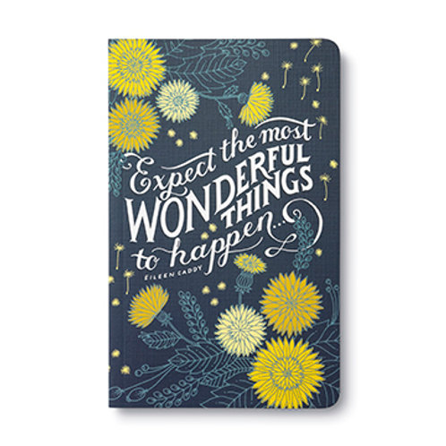 """Journal  """"Expect the most Wonderful Things to Happen"""""""
