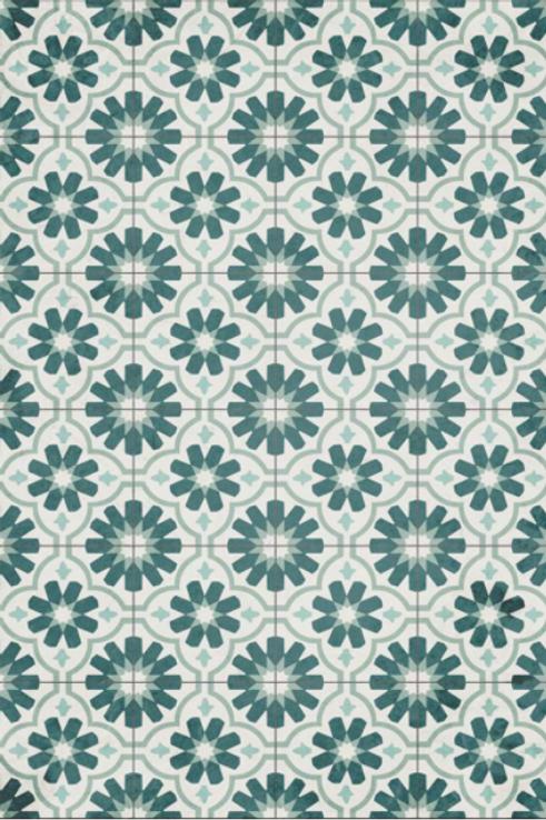 Vinyl floor mat 2'x3'    101-117