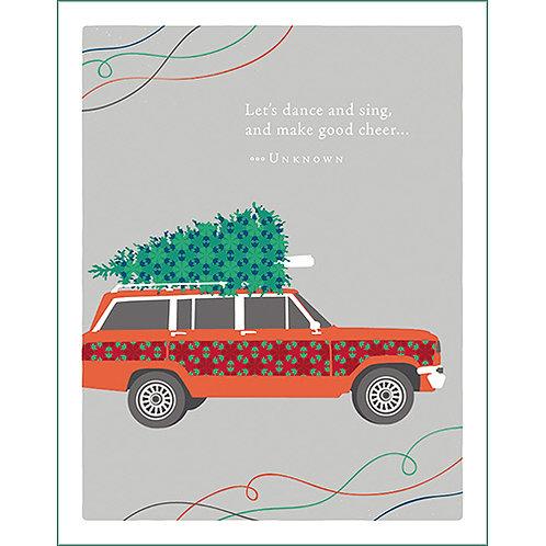 Christmas Card  #8158