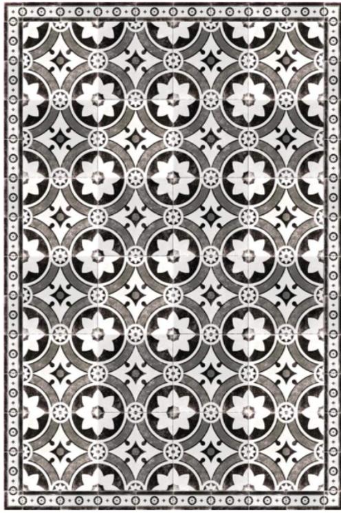 Vinyl floor mat 3'x8'    101-127