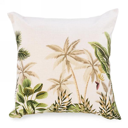 Pillow - palm tree print