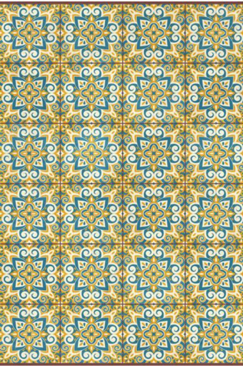 Vinyl floor mat 2'x3'    101-111