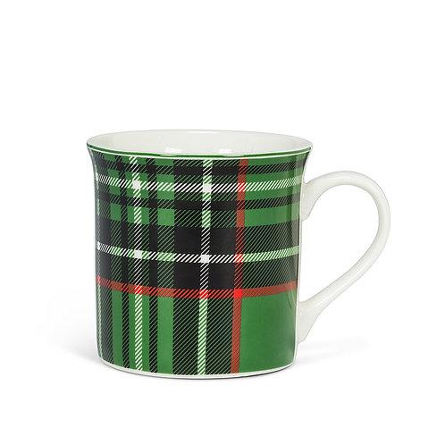 Mug - Black/green plaid