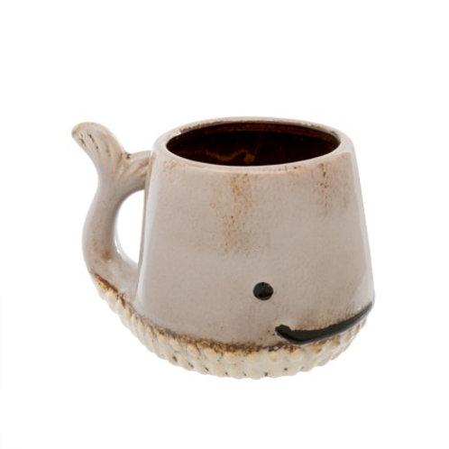 Mug - Whale, Taupe