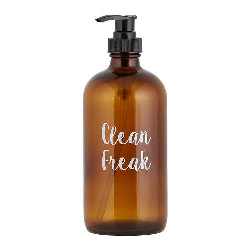 CLEAN FREAK  soap/cleaner bottle
