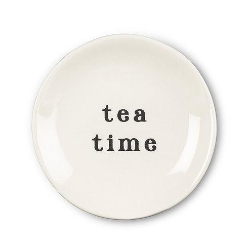 "Plate ""Tea Time"""