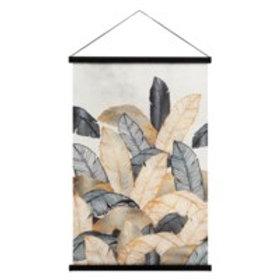 Hanging printed canvas 'Miko'