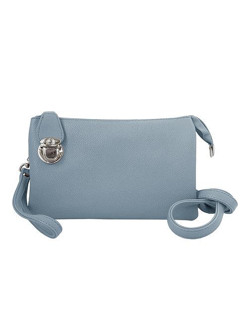 Sky blue crossbody bag