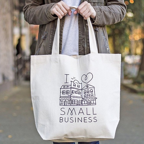Tote - I Love Small Business