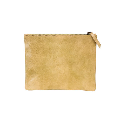 Leather Pouch - Chai