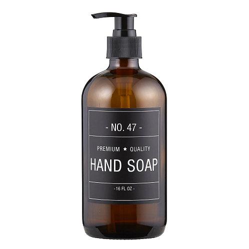 HAND SOAP bottle