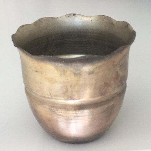 Iron Petal Pot - SMALL