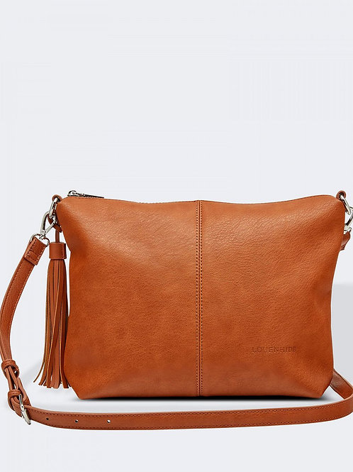 Daisy crossbody purse - Tan