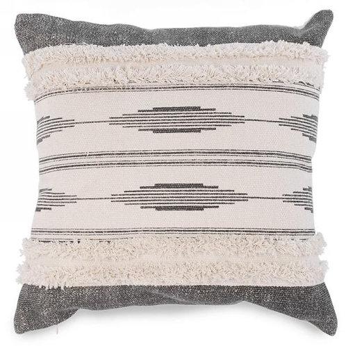 """Pillow - grey & neutral   17""""x17"""""""