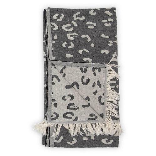 Turkish Towel - Leopard print