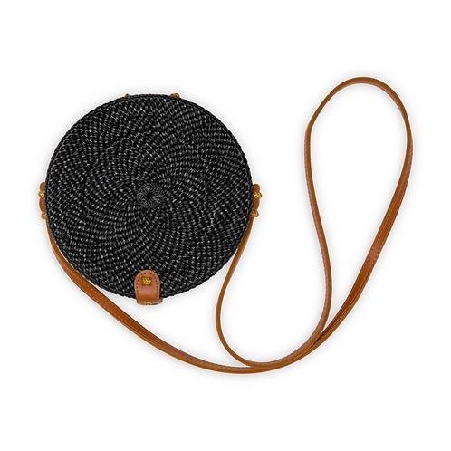 "Bali bag - black, 8"""