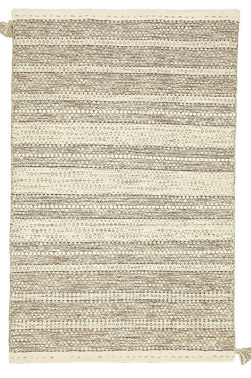 Rug - 2'x3' Sand, wool, reversible
