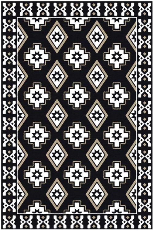 Vinyl floor mat 2'x3'     101-166