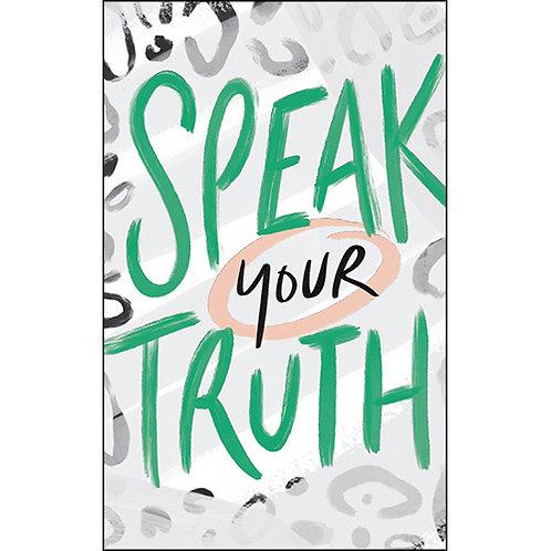 """Journal """"Speak Your Truth"""""""
