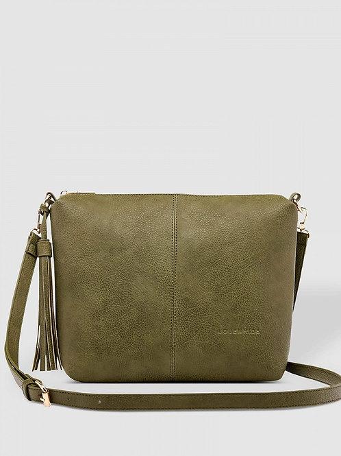 Daisy crossbody purse - Khaki