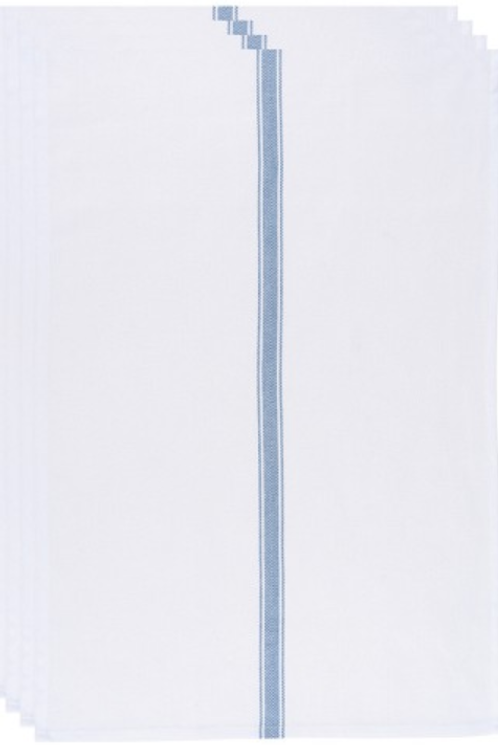 Brooklyn Stripe Dishtowels  - Navy (set of 4)