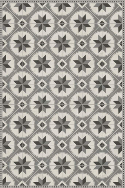 Vinyl floor mat 3.2'x4.8'    101-147
