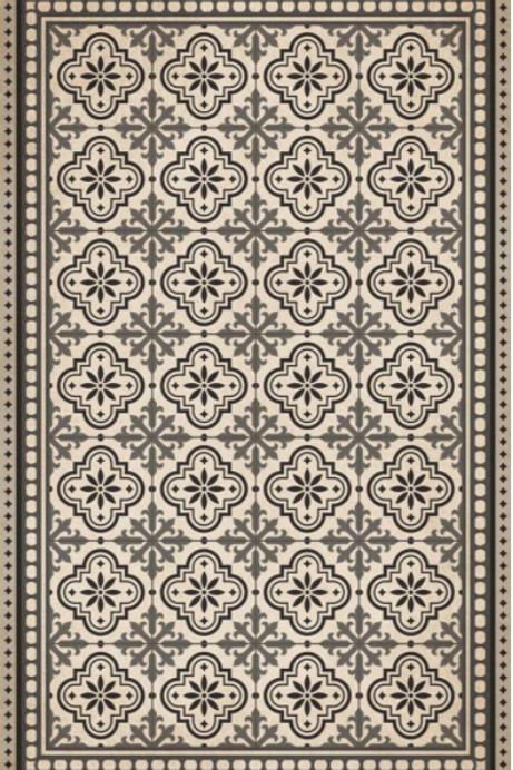 Vinyl floor mat  4.5'x6.5'     101-155