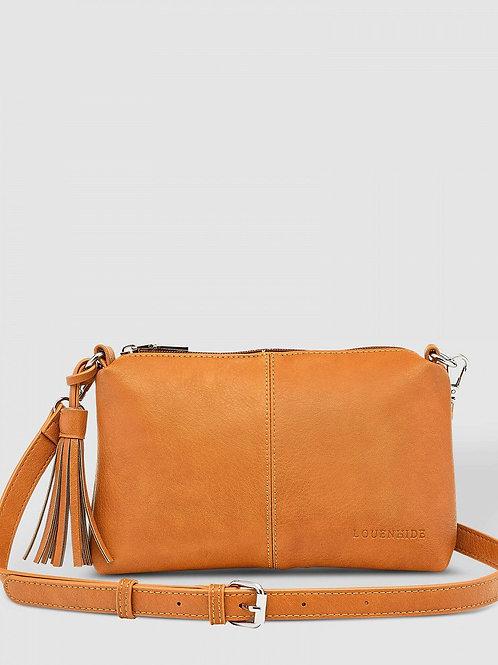 Baby Daisy crossbody purse - Nutmeg
