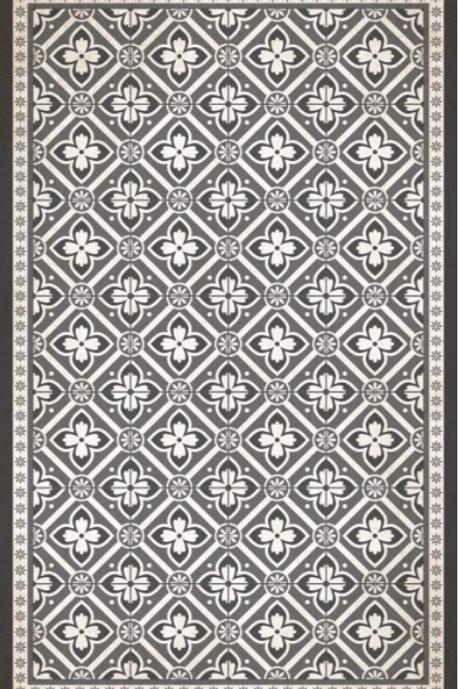 Vinyl floor mat 3.2'x4.8'    101-153