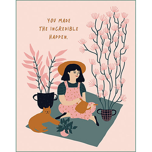 Thank You card  #7596