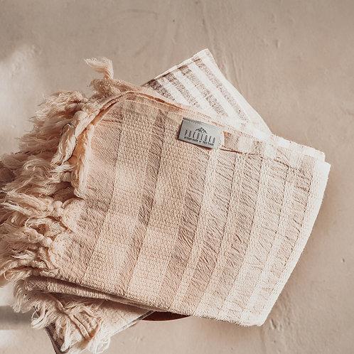 Turkish Towel - Shannon - Beige