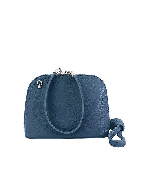 Blue purse/wristlet