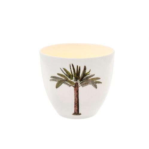 Palm tree votive