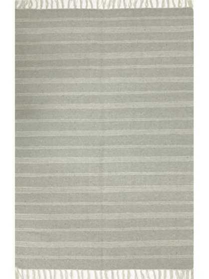 Rug - 3'x5'  Light Grey/off-white  #4016