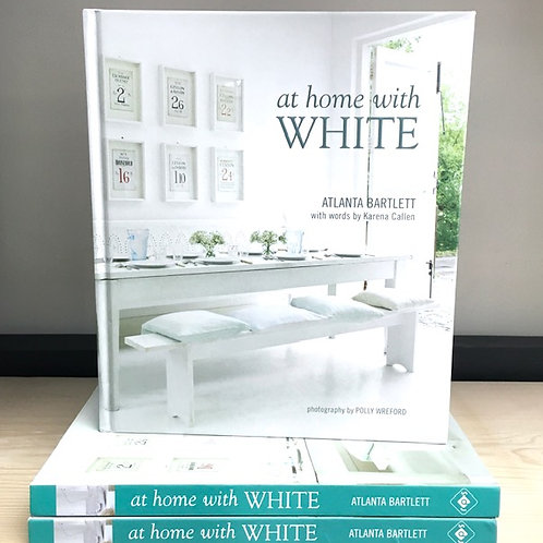 At Home With White  book