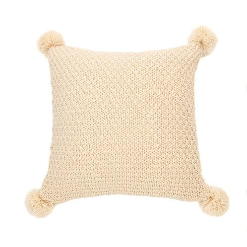 Cream colored pillow