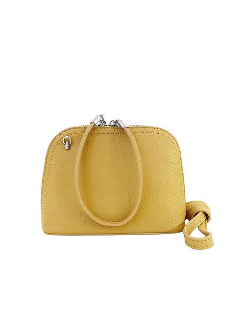 Yellow purse/wristlet